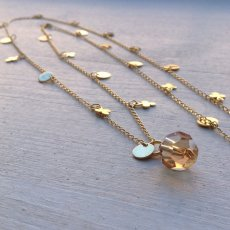 Clover - goldplated necklace