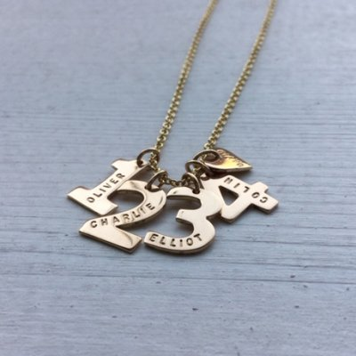 Darling Numbers Gold - 18K