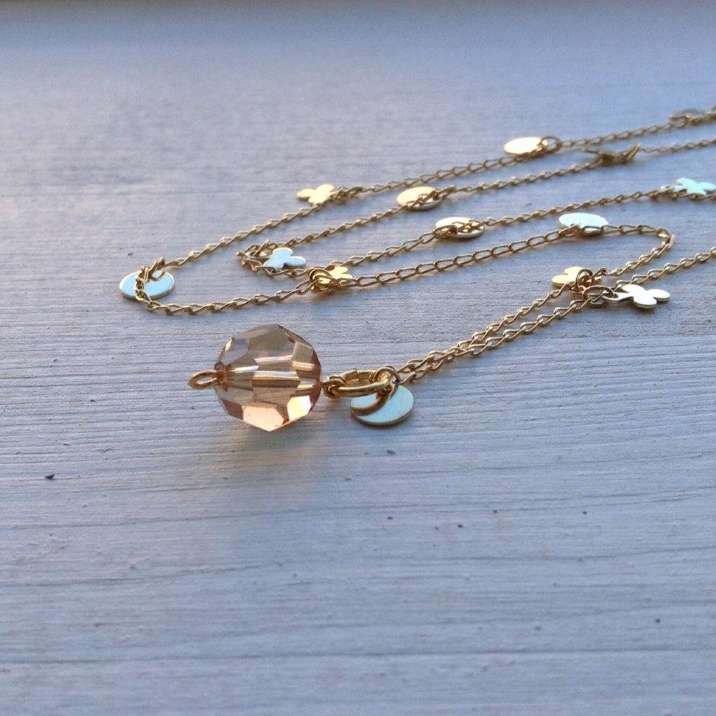 Klöver - guldpläterat halsband Klöver - guldpläterat halsband Klöver - guldpläterat  halsband 83a4e571a5b08
