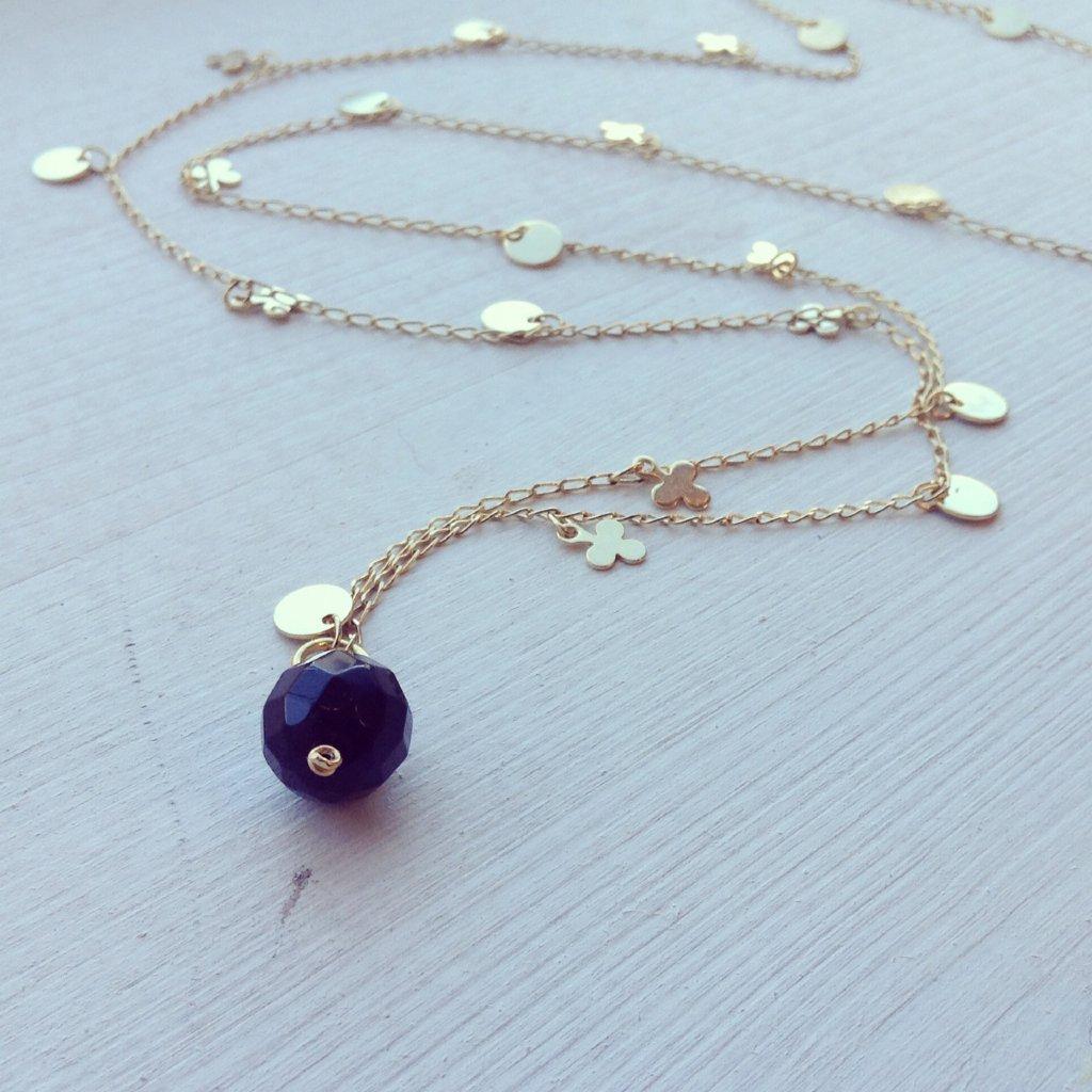 Klöver - guldpläterat halsband Klöver - guldpläterat halsband ... 1e48a9d508080